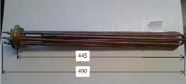 Fűtőbetét Kazán,Puffer (5/4coll) 7,5KW