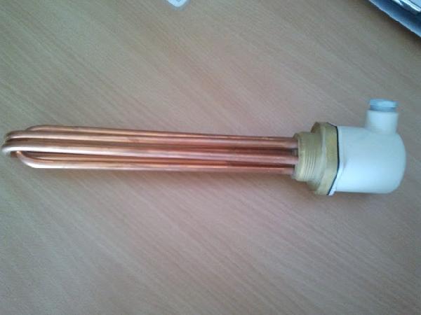 Fűtőbetét 6/4 M48 menettel 7,5 kW