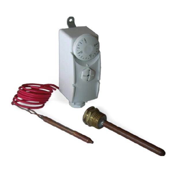 Computherm WPR-90GC kapillárcsöves, merülőhüvelyes cső(bojler) termosztát