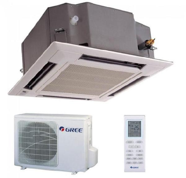 GREE GUD125T/A-T kazettás hűtő-fűtő hőszivattyús inverteres split klíma