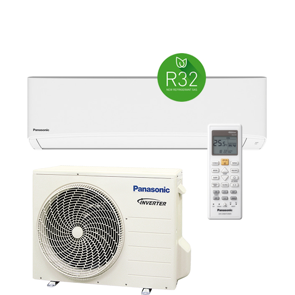PANASONIC KIT-TZ25-TKE-1 hűtő-fűtő hőszivattyús inverteres split klíma