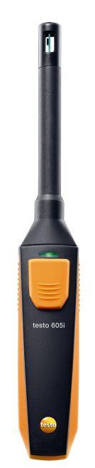 testo 605 i - páratartalom-, és hőmérsékletmérő (okostelefonról működtethető)