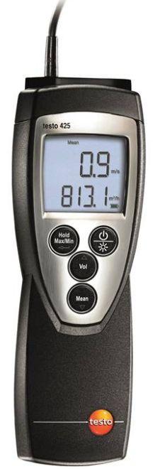 testo 425 - Hődrótos légsebességmérő
