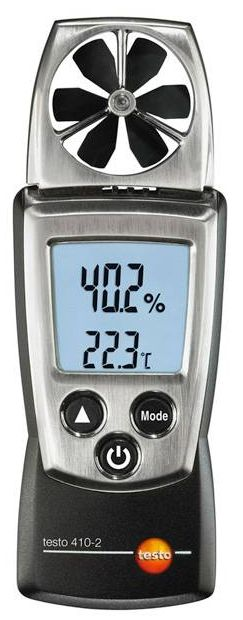 testo 410-2 - szárnykerekes légsebességmérő