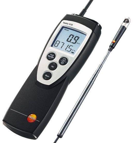 testo 416 - Szárnykerekes légsebességmérő műszer