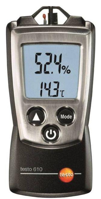 testo 610 - Pára- és hőmérsékletmérő műszer