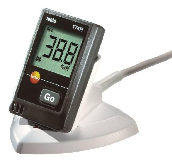 testo 174 H - mini hőmérséklet-, és páratartalom adatgyűjtő