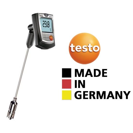 testo 905-T2 - Felületi hőmérsékletmérő széles méréstartománnyal