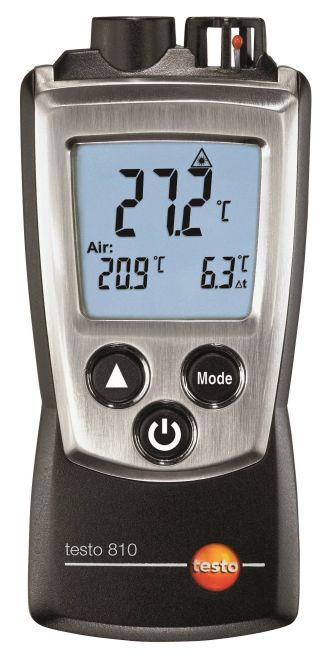 testo 810 - Infra hőmérsékletmérő