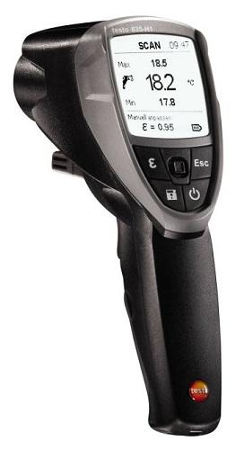 testo 835-H1 - Infra hőmérsékletmérő páratartalom mérővel