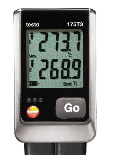 testo 175 T3 - Hőmérséklet adatgyűjtő