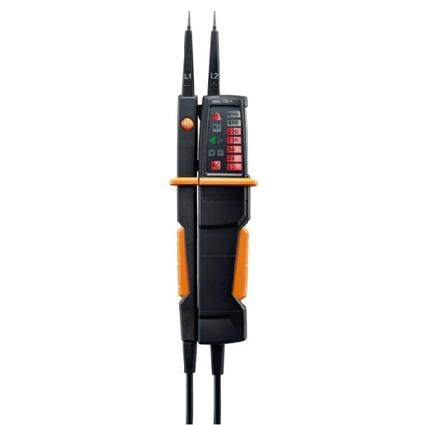 testo 750-1 - Kétpólusú feszültségmérő
