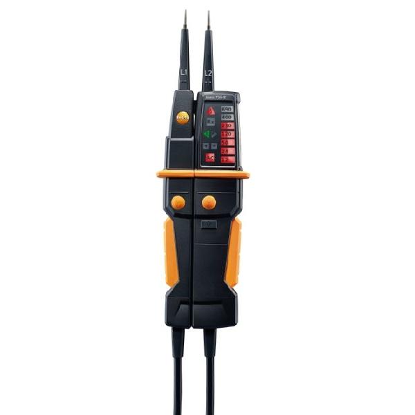 testo 750-2 - Kétpólusú feszültségmérő