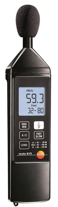 testo 815 - zajszintmérő