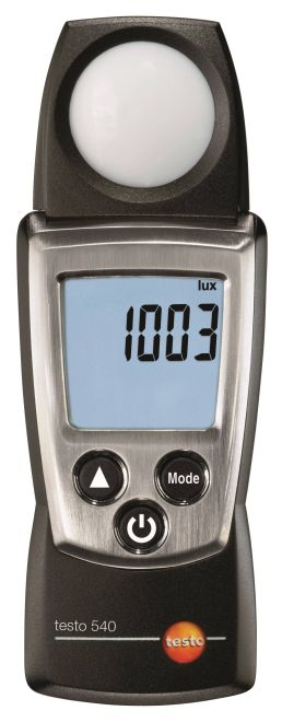 testo 540 - megvilágításmérő műszer