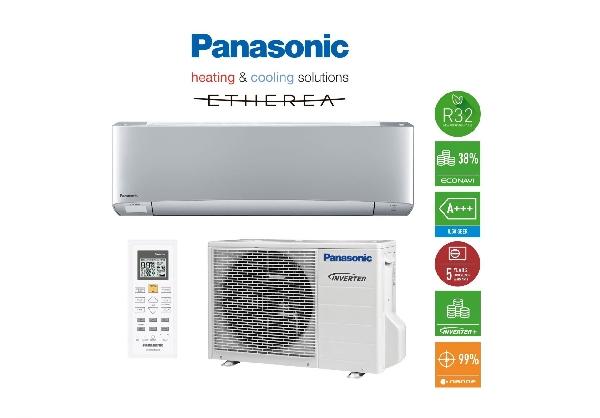 PANASONIC  KIT-XZ25-TKE hűtő-fűtő hőszivattyús inverteres split klíma