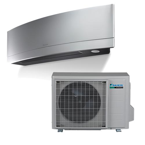 DAIKIN FTXJ25MS+RXJ25M EMURA R32 hűtő-fűtő hőszivattyús inverteres split klíma
