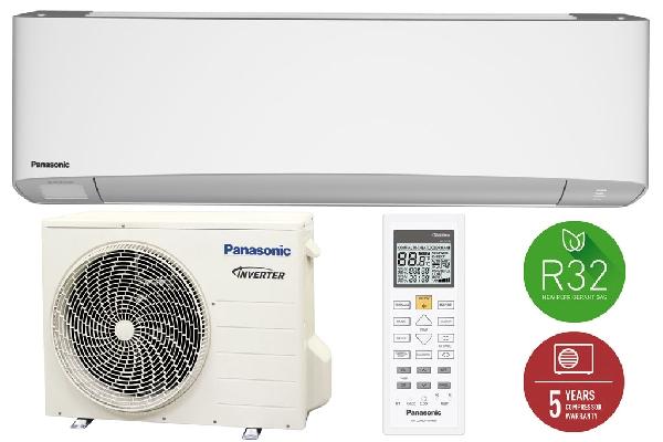 PANASONIC KIT-Z42-TKE ETHEREA INVERTER+ FEHÉR R32 hűtő-fűtő hőszivattyús inverteres split klíma