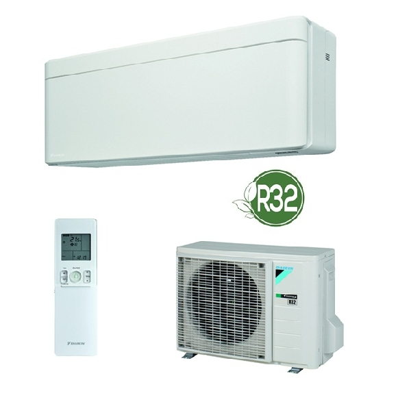 DAIKIN FTXA50AW+RXA50A STYLISH R32 hűtő-fűtő hőszivattyús inverteres split klíma