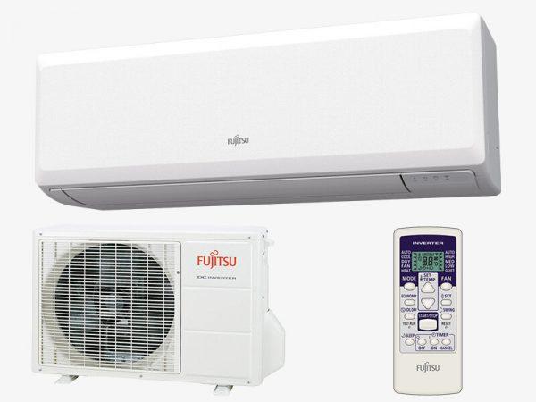 FUJITSU ASYG 12 KPCA / AOYG 12 KPCA ECO hűtő-fűtő hőszivattyús inverteres split klíma