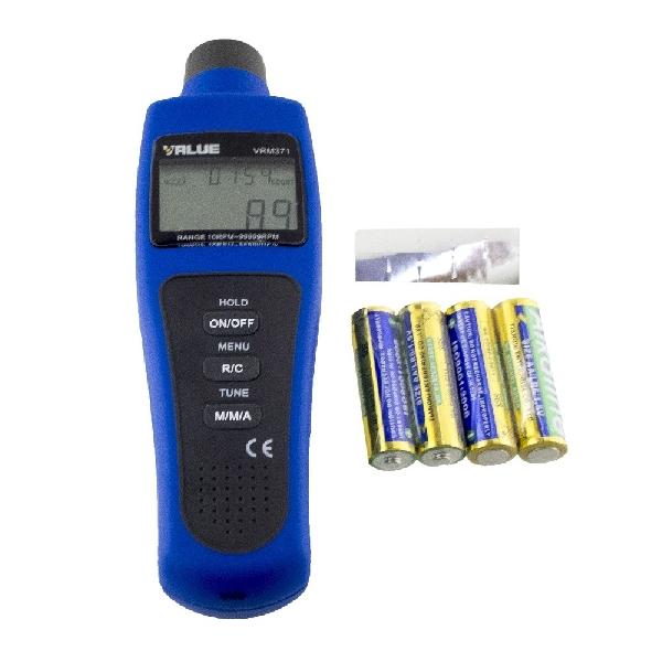 Fordulatszám mérő VRM-371 Value